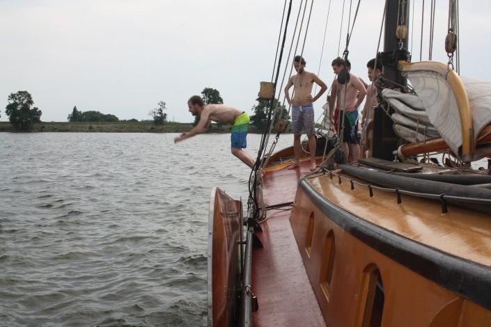 zwemmen IJsselmeer